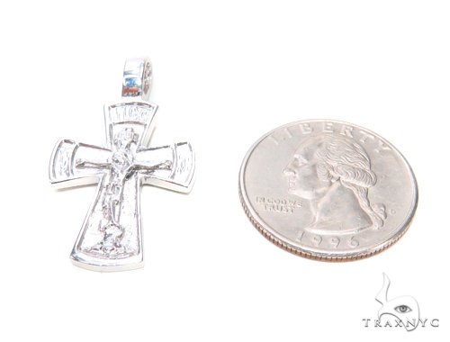 Holy Silver Cross Crucifix 43342 Silver