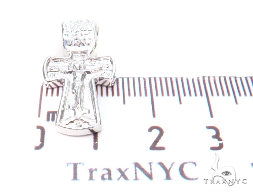Holy Silver Cross Crucifix 43345 Silver
