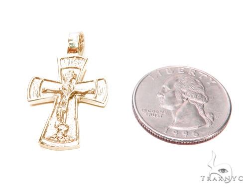 Holy Gold Cross Crucifix 43348 Gold