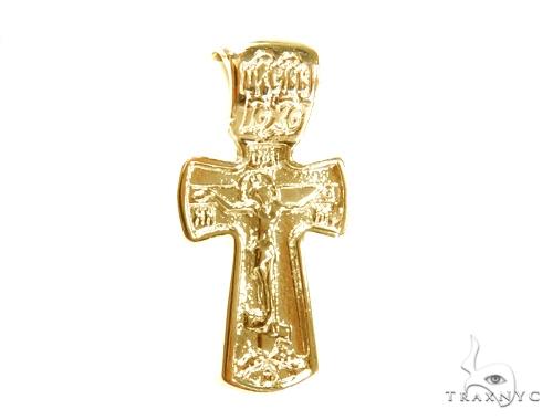 Holy Gold Cross Crucifix 43350 Gold