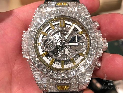 Hublot Big Bang Unico Haute Joaillerie Collection Watch 1 of 1 64727 Hublot