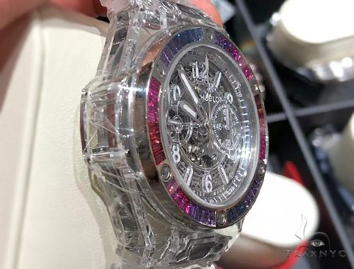 Hublot Big Bang Unico Sapphire Rainbow Watch 64744 Hublot