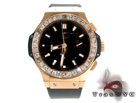 Hublot Classic Fusion Rose Gold Diamonds Watch Hublot