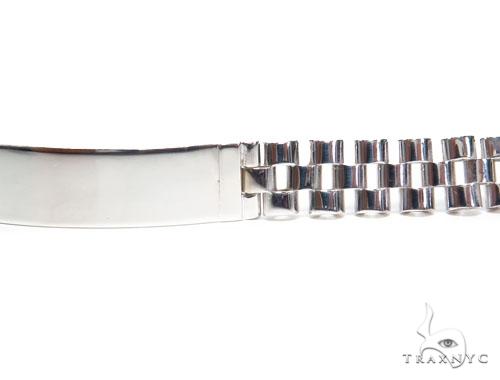 ID Sterling Silver Bracelet 41343 Silver