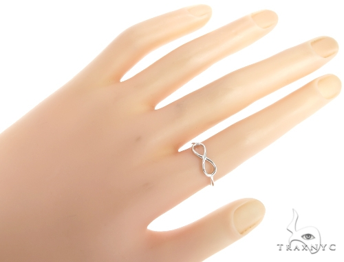 Infinity Gold Fashion Ring 45473 Anniversary/Fashion