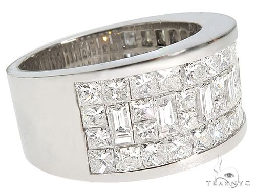 Invisible Diamond Band Style