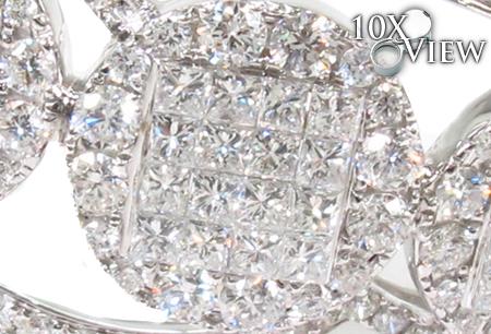 Invisible Diamond Bangle Bracelet  32193 Bangle