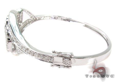 Invisible Diamond Bangle Bracelet  32193 Bangle