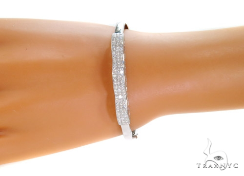 Invisible Diamond Bangle Bracelet 37438 Bangle