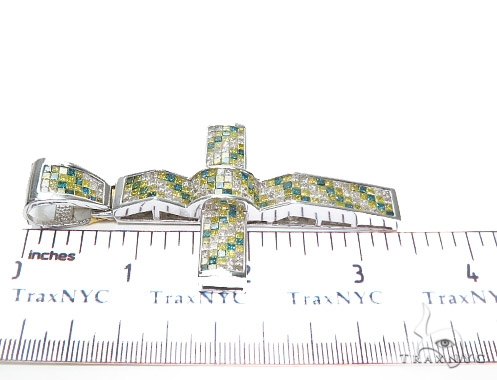 Invisible Diamond Cross Crucifix 42077 Diamond