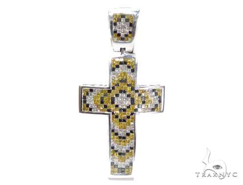 Invisible Diamond Cross Crucifix 42081 Diamond