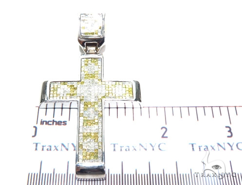 Invisible Diamond Cross Crucifix 42086 Diamond
