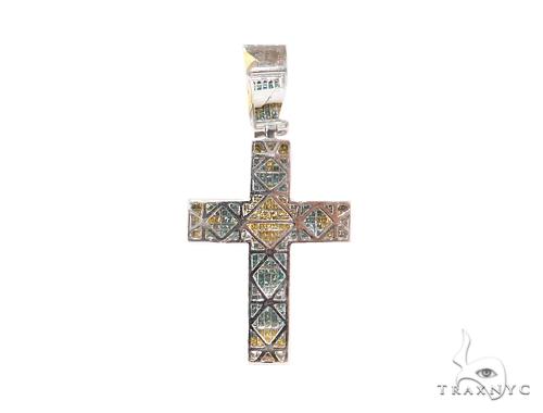 Invisible Diamond Cross Crucifix 44081 Diamond
