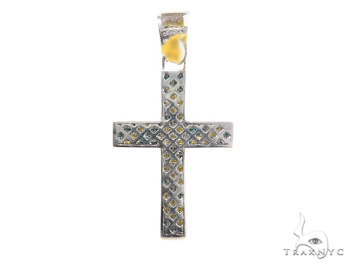 Invisible Diamond Cross Crucifix 44120 Diamond