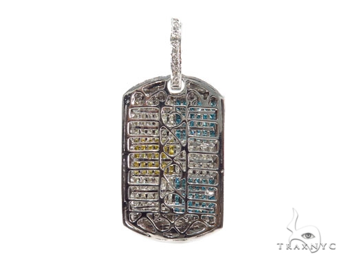 Invisible Diamond Dog Tag 41687 Style