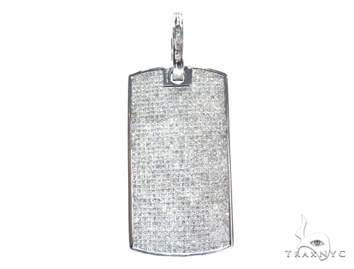 Invisible Diamond Dog Tag 42593 Style