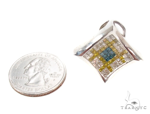 Invisible Diamond Earrings 35314 Stone