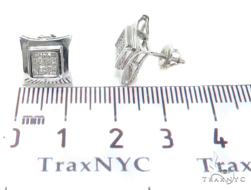 Invisible Diamond Earrings 40957 Stone