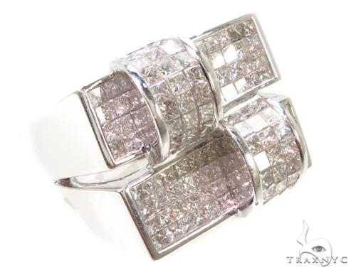 Invisible Diamond Ring 36525 Stone