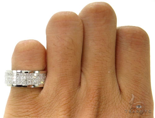 Invisible Diamond Ring 36995 Style
