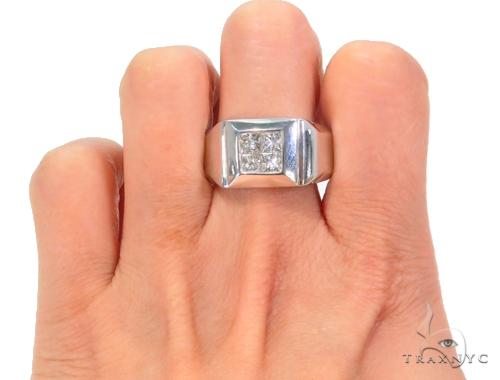 Invisible Diamond Ring 44499 Stone