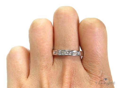 Invisible Diamond Wedding Band 40621 Style