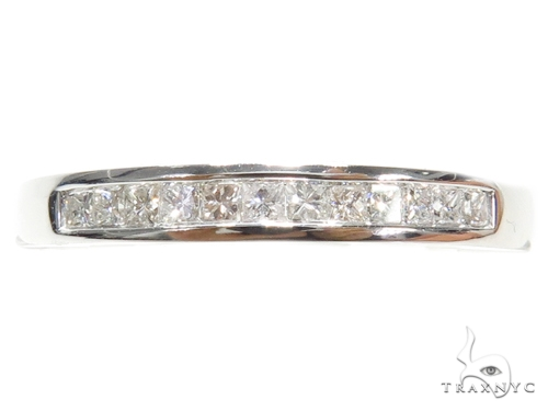 Invisible Diamond Wedding Band 40624 Style