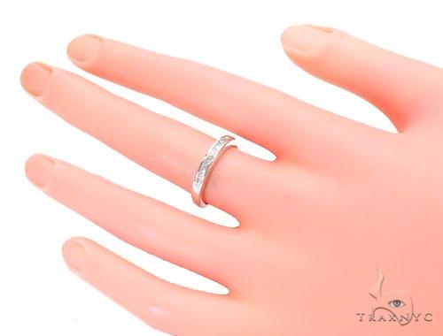 Invisible Diamond Wedding Ring 43791 Wedding