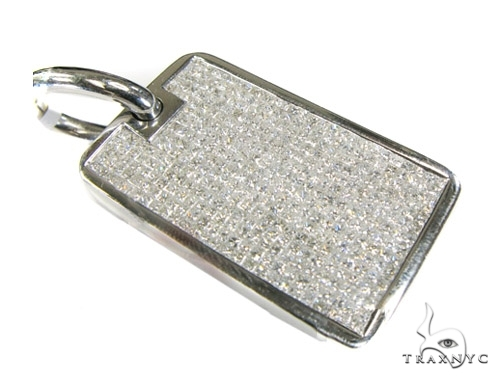 Invisible Princess Dog Tag Metal