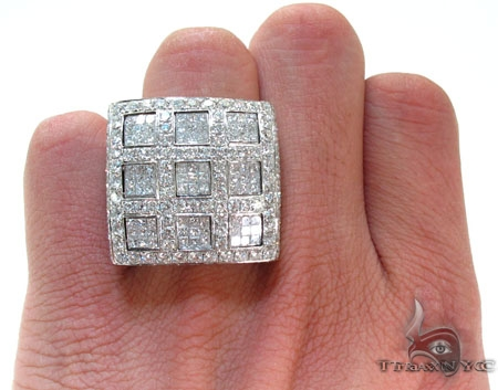 Invisible Square XL Ring Stone