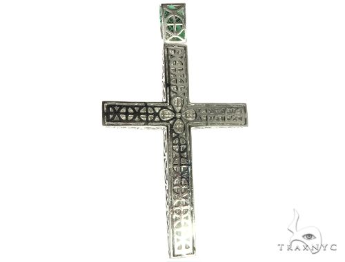 Invisible XL Elevated Princess Cross Crucifix 63308 Diamond