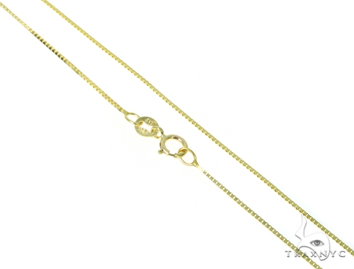 Italian Horn Yellow Gold Necklace 44811 Gold