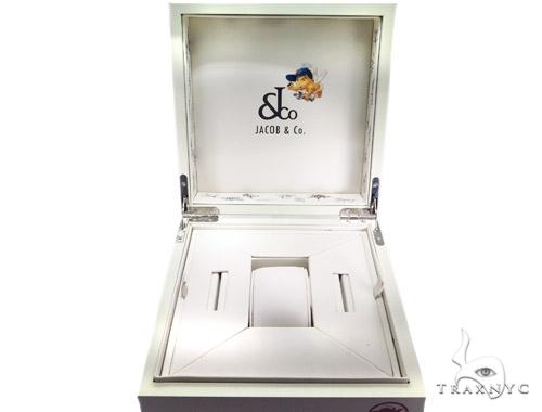 JACOB & Co Five Time Zone Diamond Pave Watch JCM45 40998 JACOB & Co