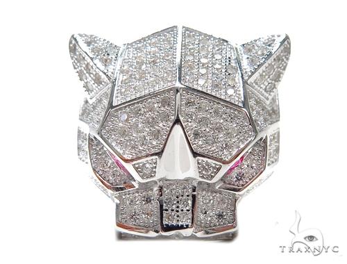 Jaguar Silver Ring 41953 Metal