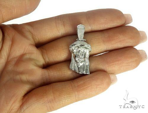 Jesus Diamond Pendant 44755 Style