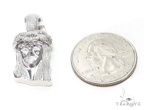 Jesus Diamond Pendant 44759 Style