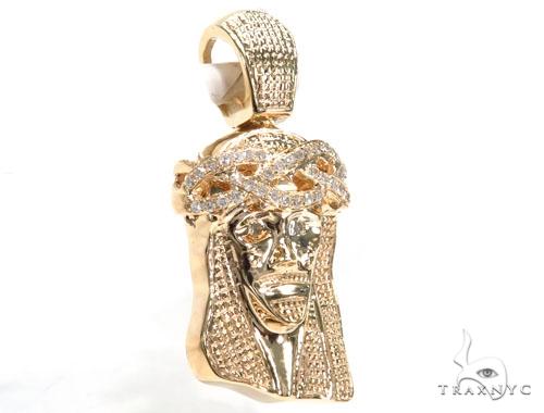 Jesus Diamond Pendant 44760 Style