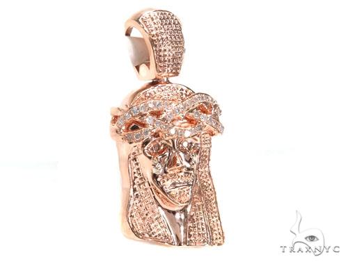 Jesus Diamond Pendant 44761 Style