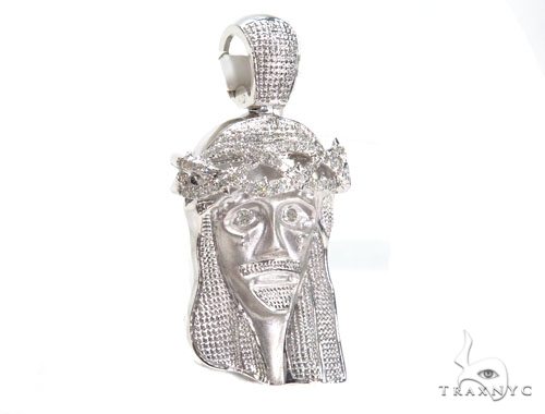 Jesus Diamond Pendant 44770 Style