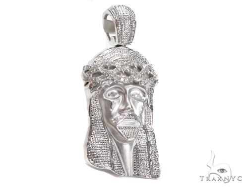 Jesus Diamond Pendant 44773 Style