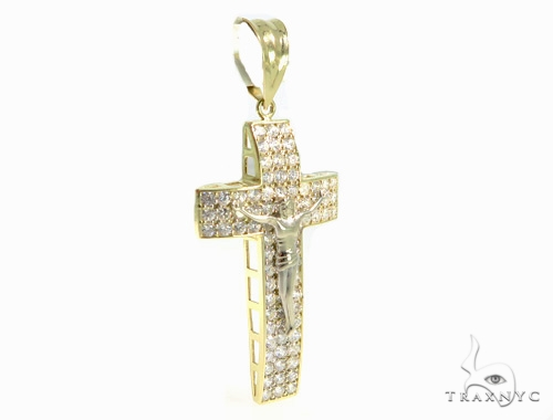 Jesus Gold Cross 49437 Gold