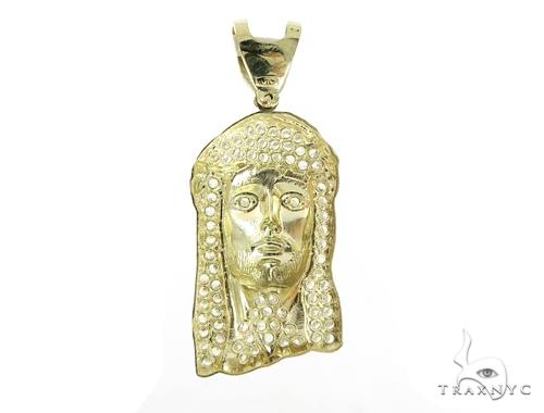 Jesus Gold Pendant 49681 Metal