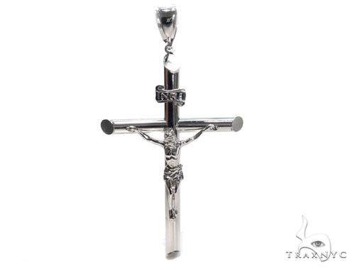 Jesus Silver Cross Crucifix 41100 Silver
