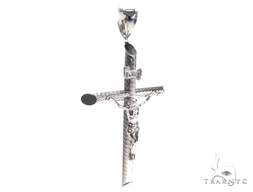 Jesus Silver Cross Crucifix 41102 Silver