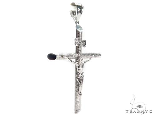 Jesus Silver Cross Crucifix 41104 Silver