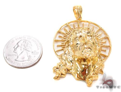 Jesus Silver Pendant 35558 Metal