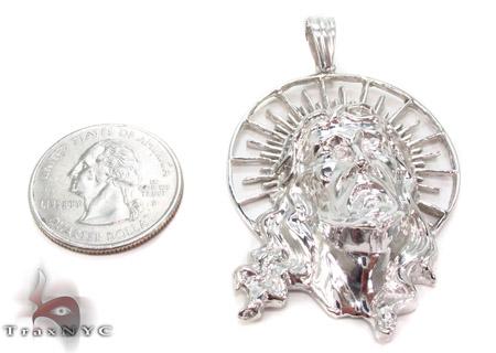 Jesus Silver Pendant 33321 Style