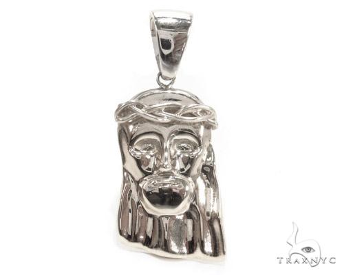 Jesus Silver Pendant 35559 Metal