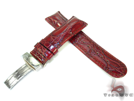 Joe Rodeo Maroon Leather Band 24mm Watch Accessories