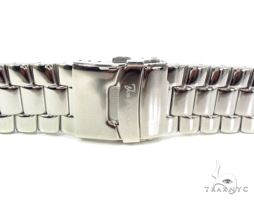Joe Rodeo White Stainless Steel Band 24mm Watch Accessories